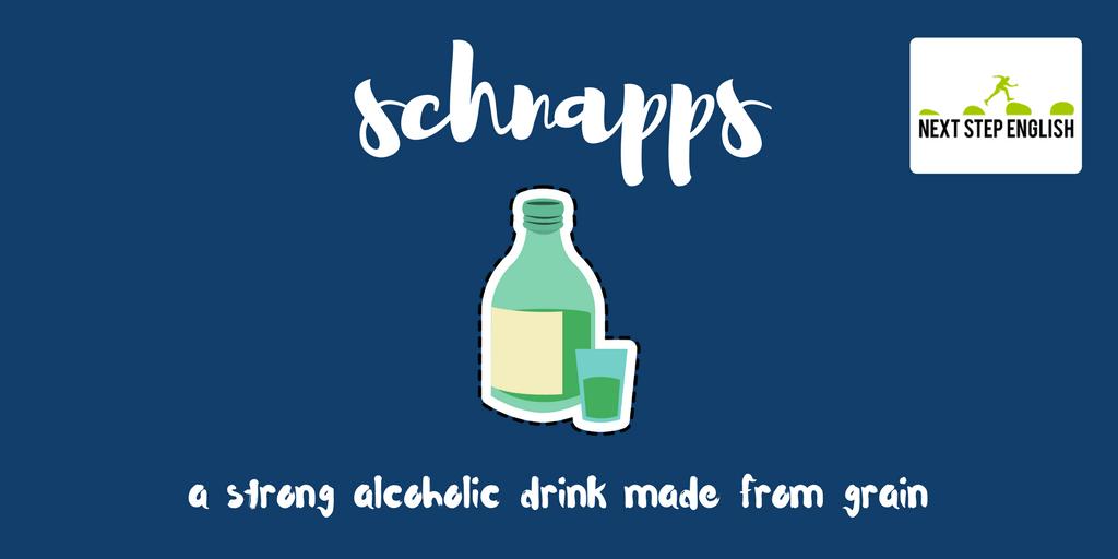 define schnapps