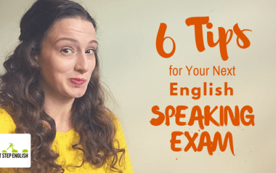 VIDEO: 6 Tips for English Speaking Exams