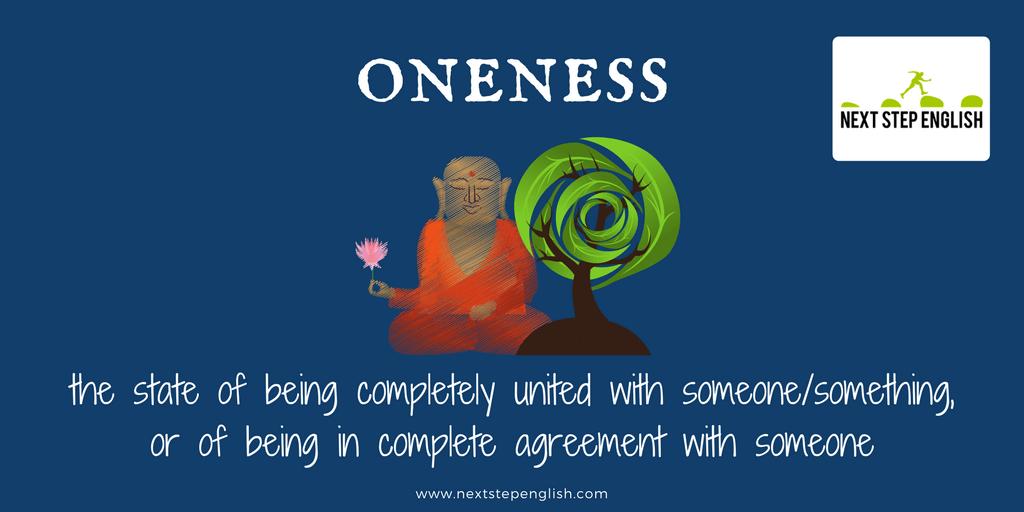 define oneness