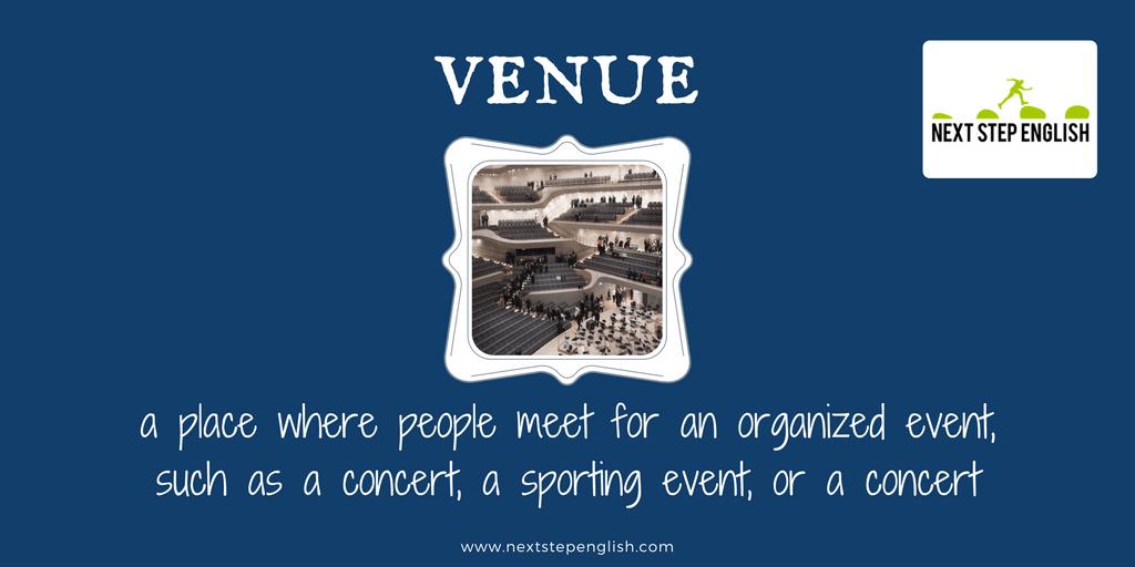 define venue