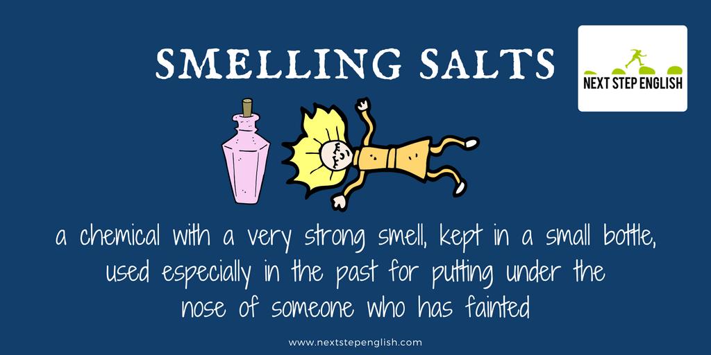 define smelling salts