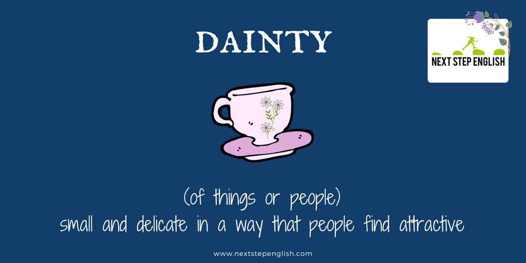 define dainty
