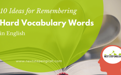 How to Remember Hard Vocabulary Words in English