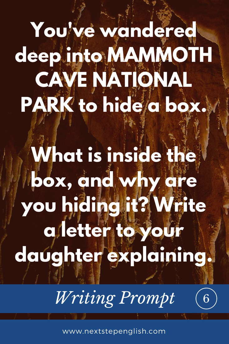ESL-Creative-Writing-Prompts-6-Nature-Mammoth-Cave-Next-Step-Englis