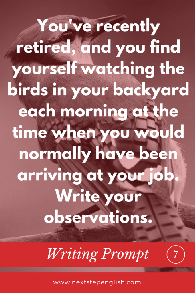 bird-writing-prompts-creative-writing-ideas-ESL-7-Next-Step-English
