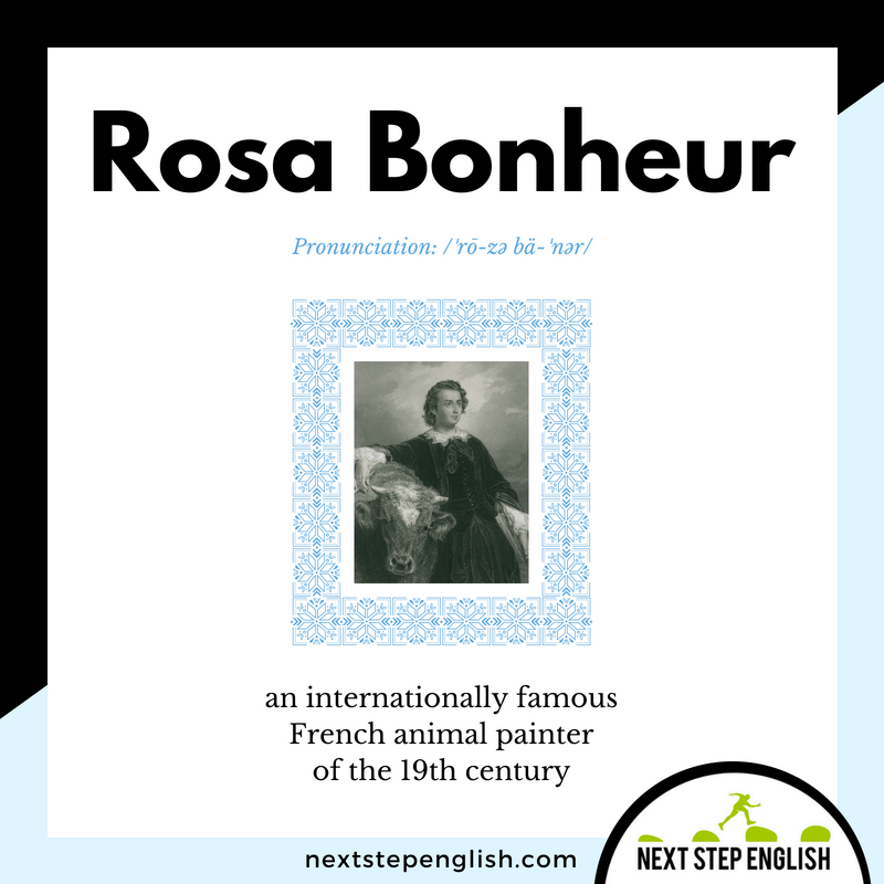 34-who-was-ROSA-BONHEUR-Next-Step-English