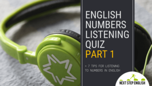 Listening Tips for Numbers + English Numbers Listening Quiz, Part 1