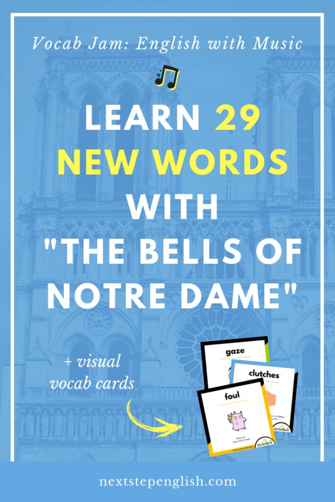 vocab-jam-ESL-vocabulary-listening-bells-of-notre-dame-Next-Step-English