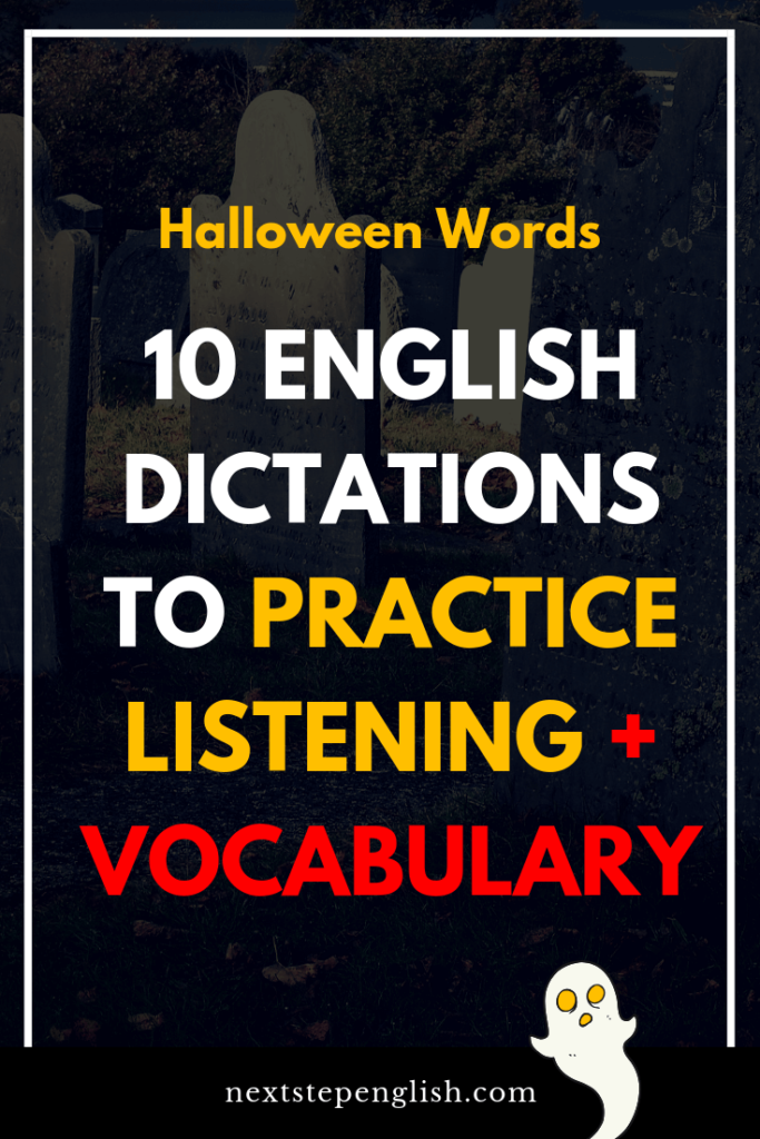 English-Dictations-Listening-Halloween-Words-Next-Step-English