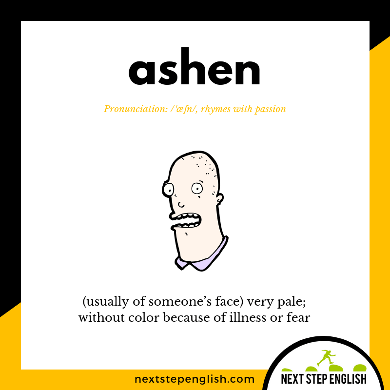 define-ASHEN-meaning-Next-Step-English-Halloween-Words-Dictations