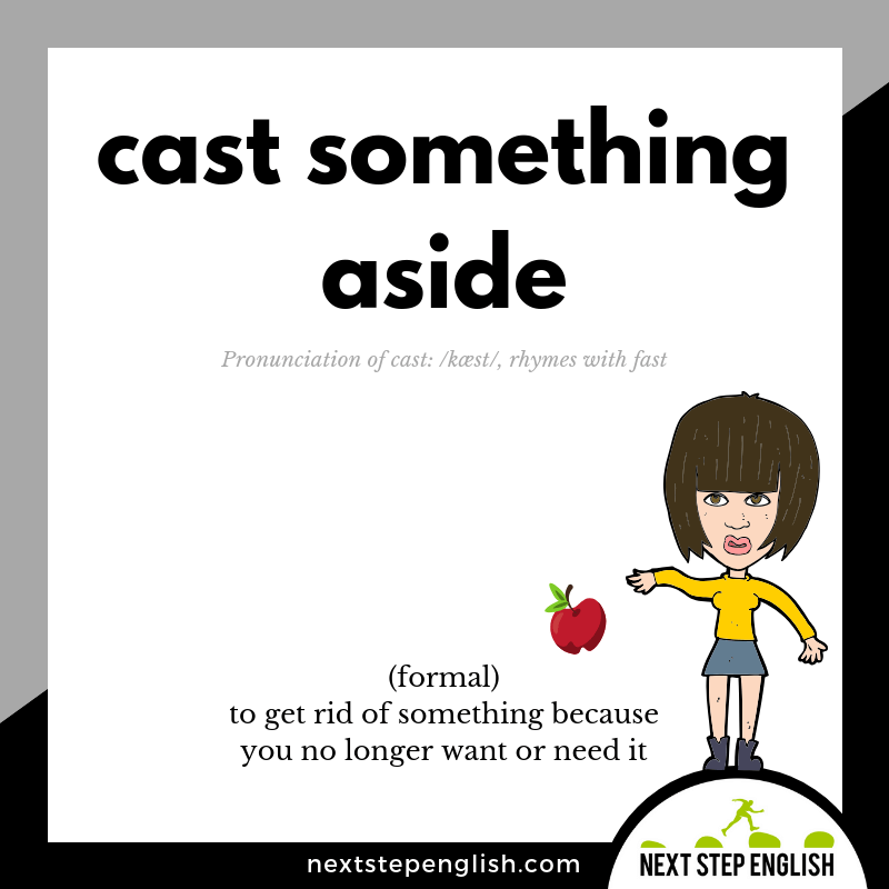 define-CAST-ASIDE-meaning-phrasal-verb-Next-Step-English-visual-vocabulary