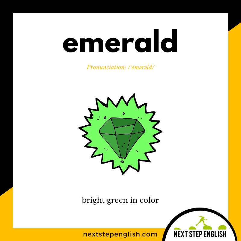define-EMERALD-meaning-Next-Step-English-visual-vocabulary