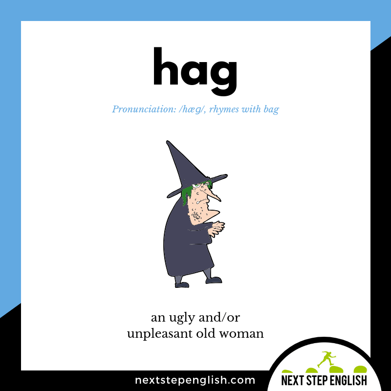 define-HAG-meaning-Next-Step-English-Halloween-Words-Dictations