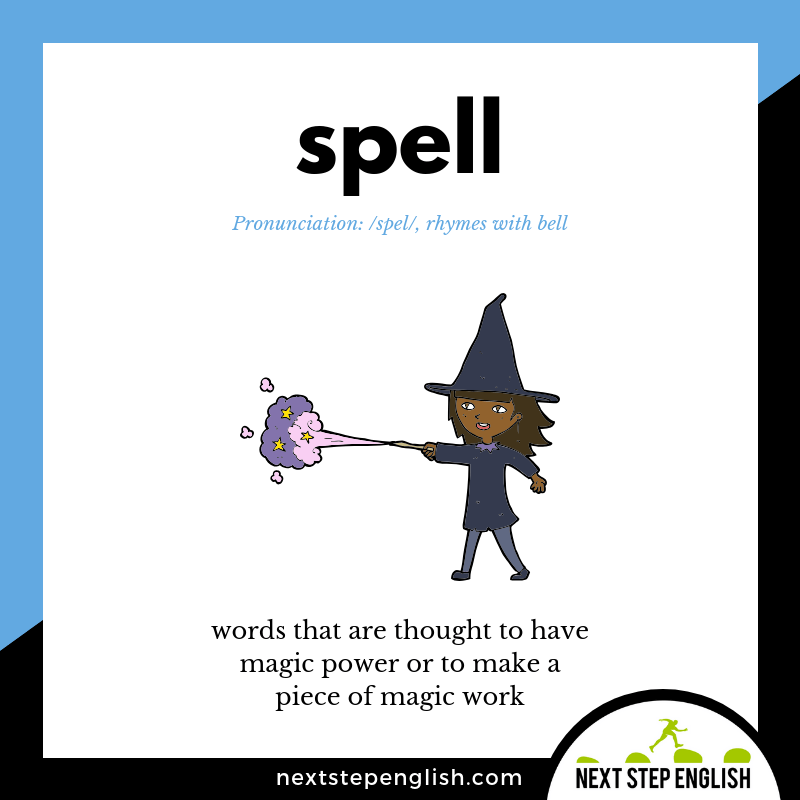 define-SPELL-meaning-Next-Step-English-Halloween-Words-Dictations