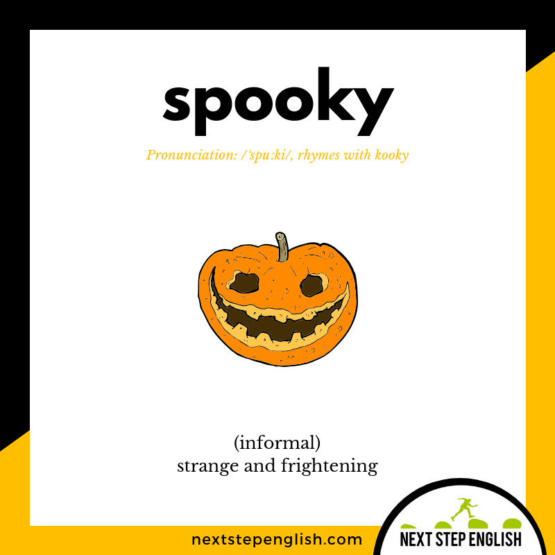 define-SPOOKY-meaning-Next-Step-English-Halloween-Words-Dictations