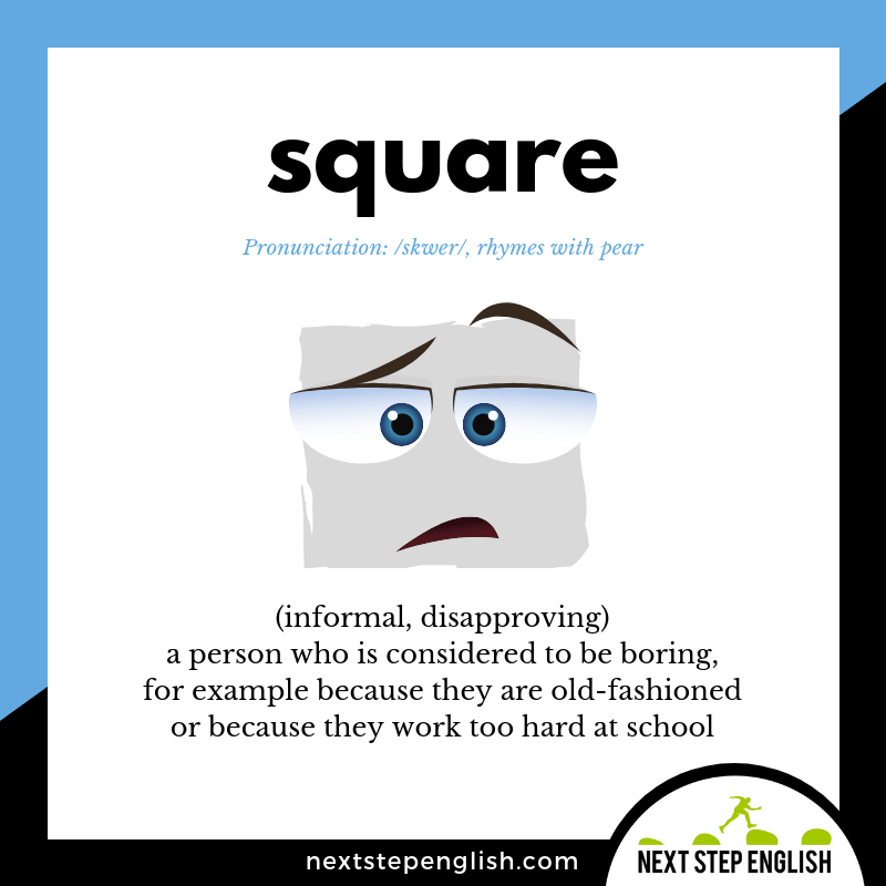 define-SQUARE-slang-meaning-Next-Step-English-Vocabulary-with-music