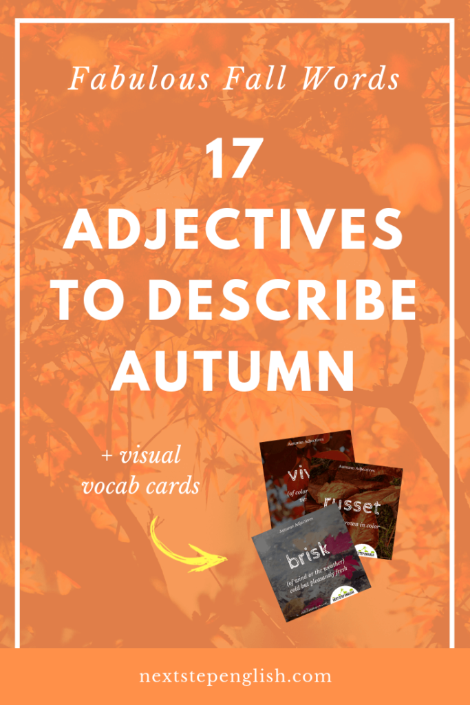 fall-words-to-describe-autumn-adjectives-Next-Step-English-vocabulary