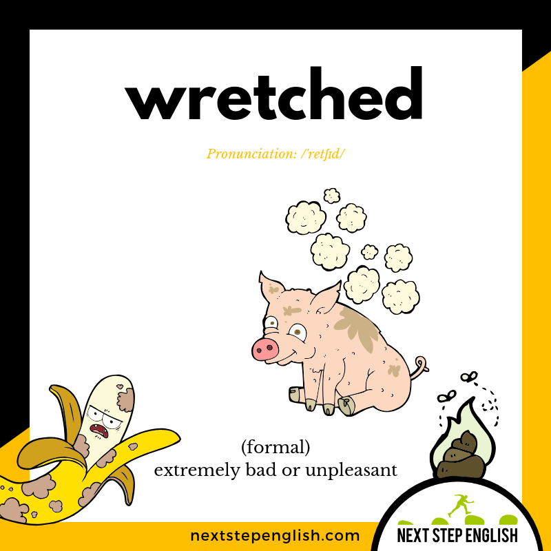 22-define-WRETCHED-meaning-Next-Step-English-vocabulary-Lusty-Month-of-May