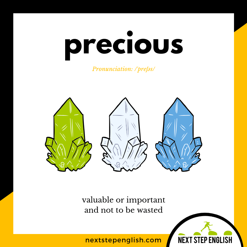 23-define-PRECIOUS-meaning-Next-Step-English-vocabulary-Lusty-Month-of-May