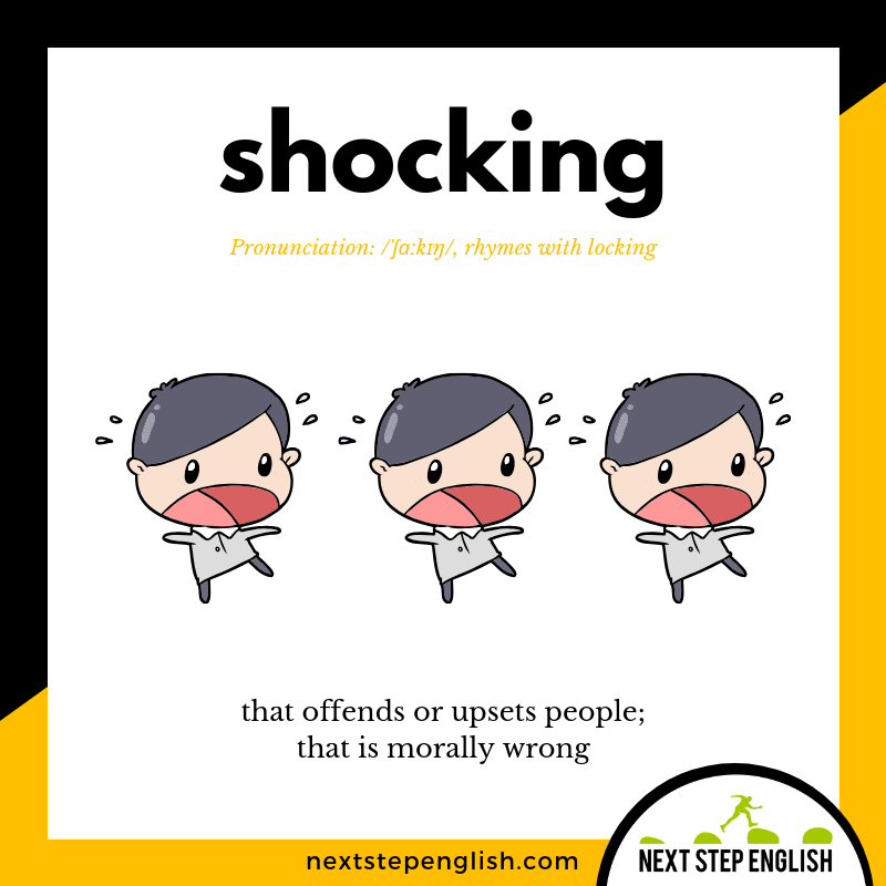 4-define-SHOCKING-meaning-Next-Step-English-vocabulary-Lusty-Month-of-May