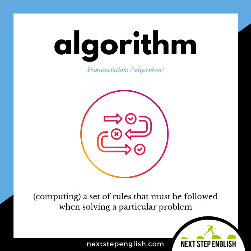 define-ALGORITHM-meaning-Next-Step-English-vocabulary