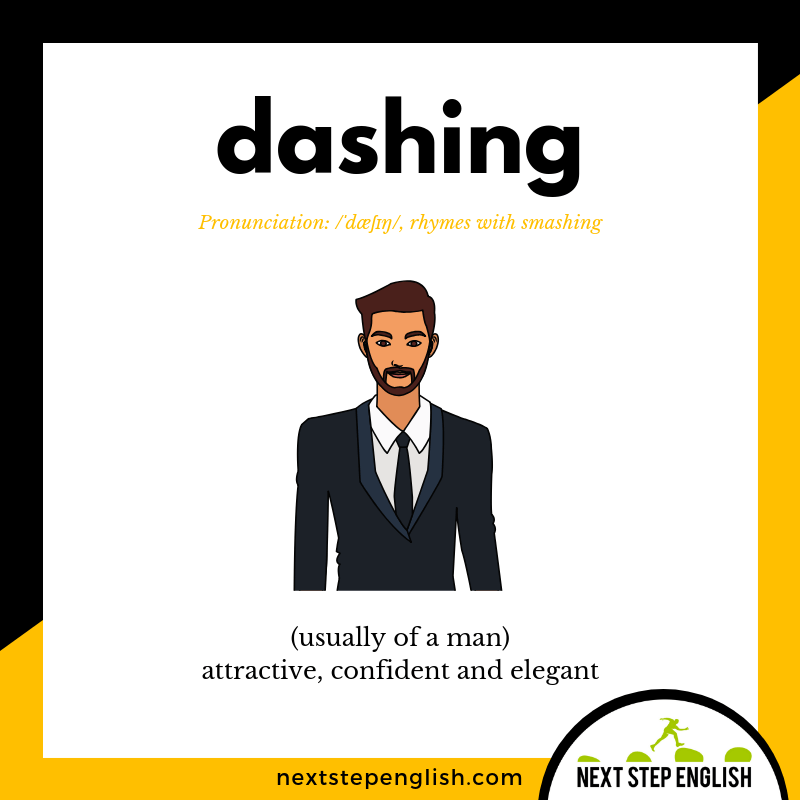 define-DASHING-meaning-Next-Step-English-vocabulary