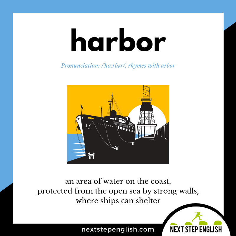 define-HARBOR-meaning-Next-Step-English-vocabulary-star-spangled-banner