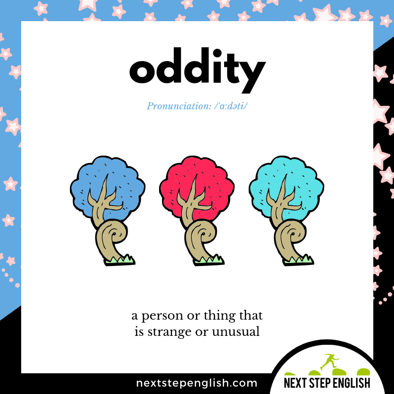define-ODDITY-meaning-Next-Step-English-vocabulary