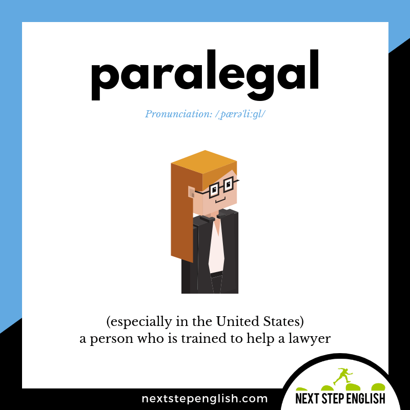 define-PARALEGAL-meaning-Next-Step-English-vocabulary