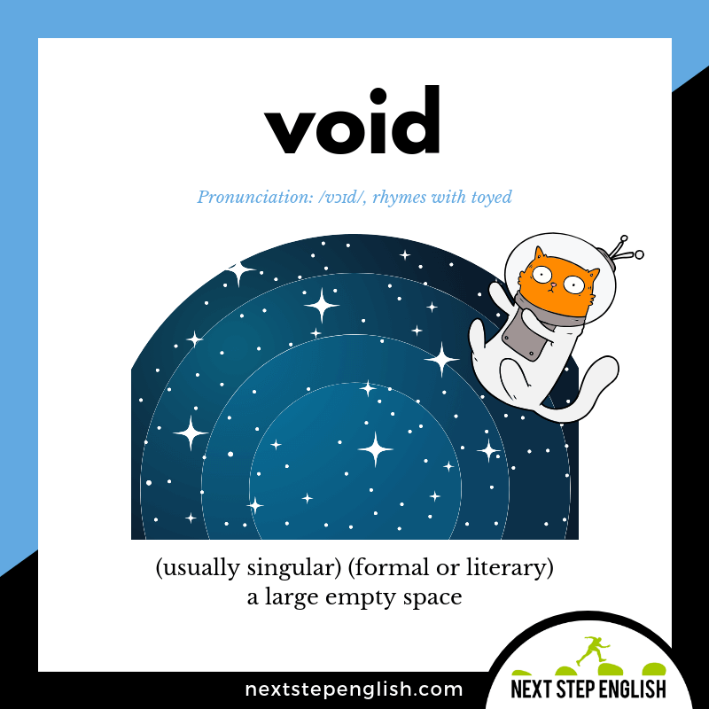 define-VOID-meaning-Next-Step-English-vocabulary