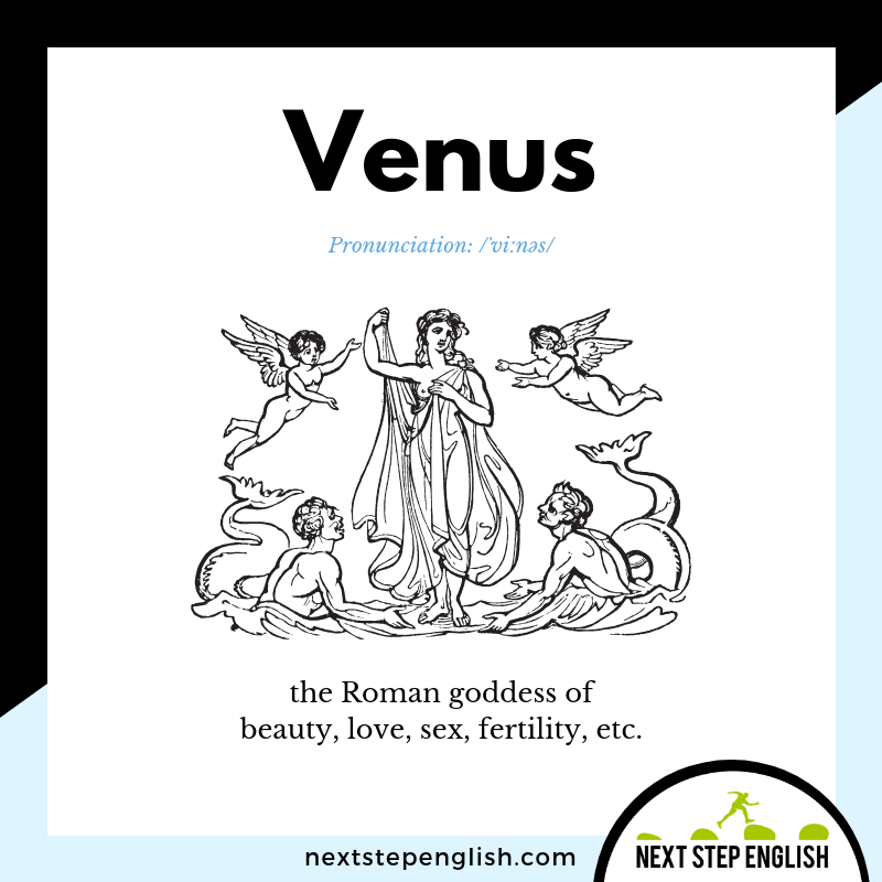 goddess-VENUS-Next-Step-English-vocabulary-star-spangled-banner