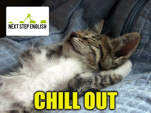 ESL Word of the Day: CHILL OUT (Next Step English)