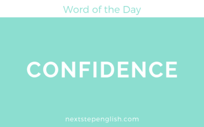 Word of the Day: CONFIDENCE