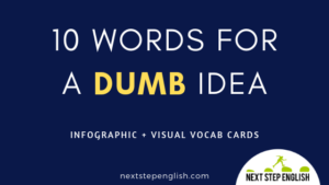 10 Dumb Synonyms: Different Words for Stupid Ideas