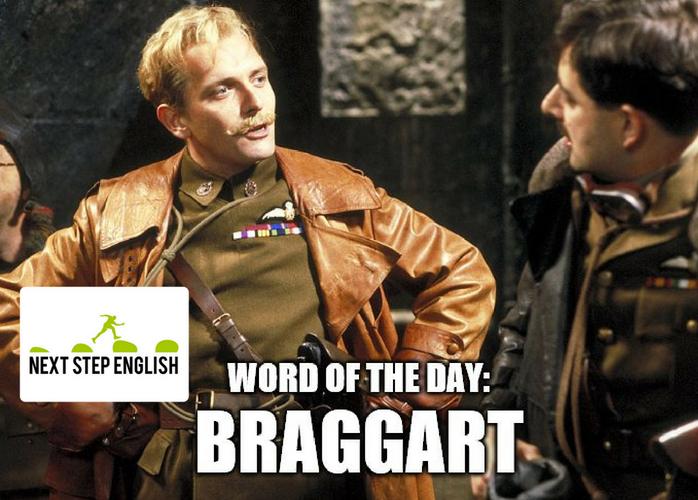 define-braggart