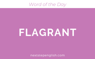 Flagrant | Meaning + Examples