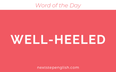 Well-Heeled | Meaning + Examples