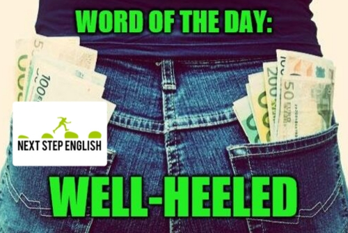 well-heeled definition