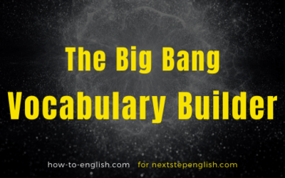 The Big Bang Vocabulary Builder