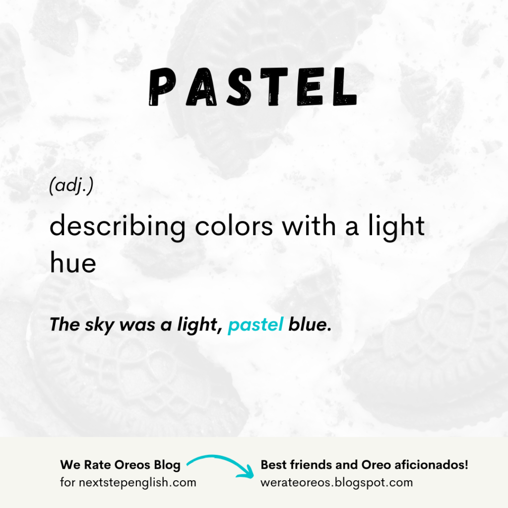 Pastel Meaning