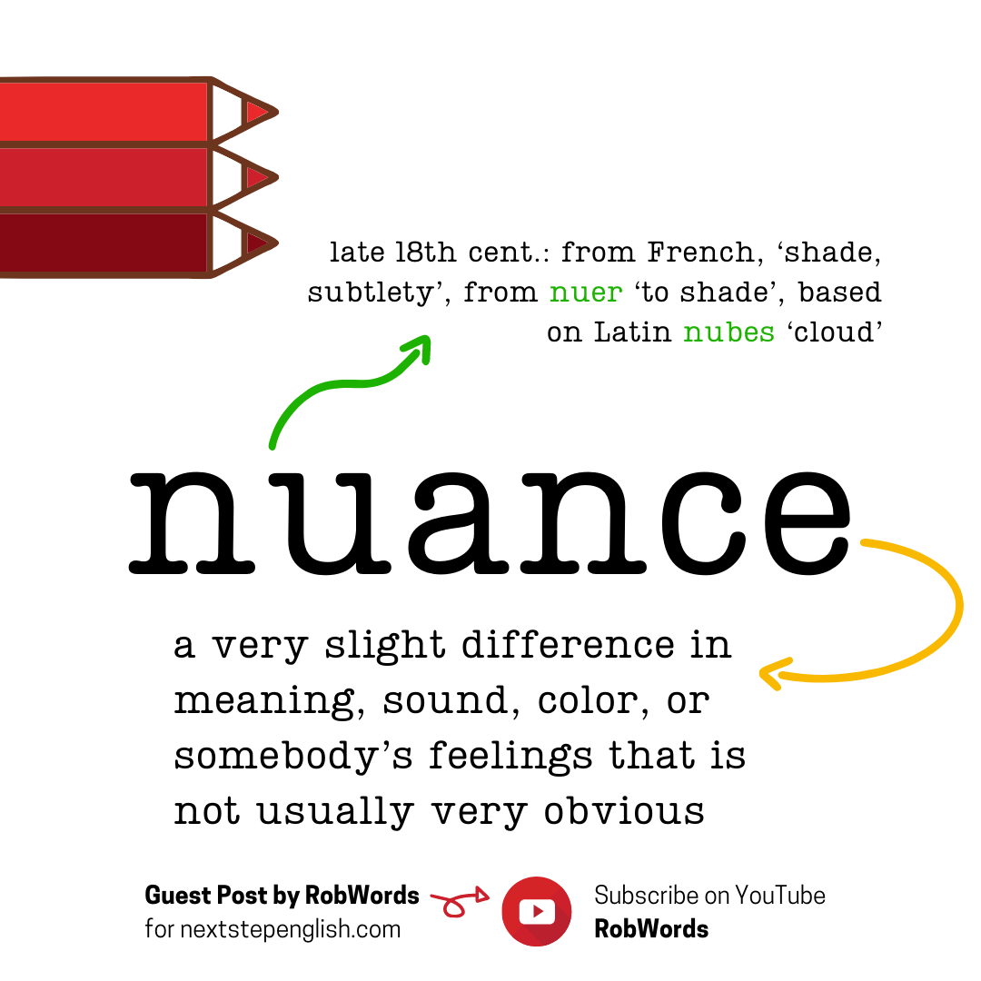 nuance-meaning