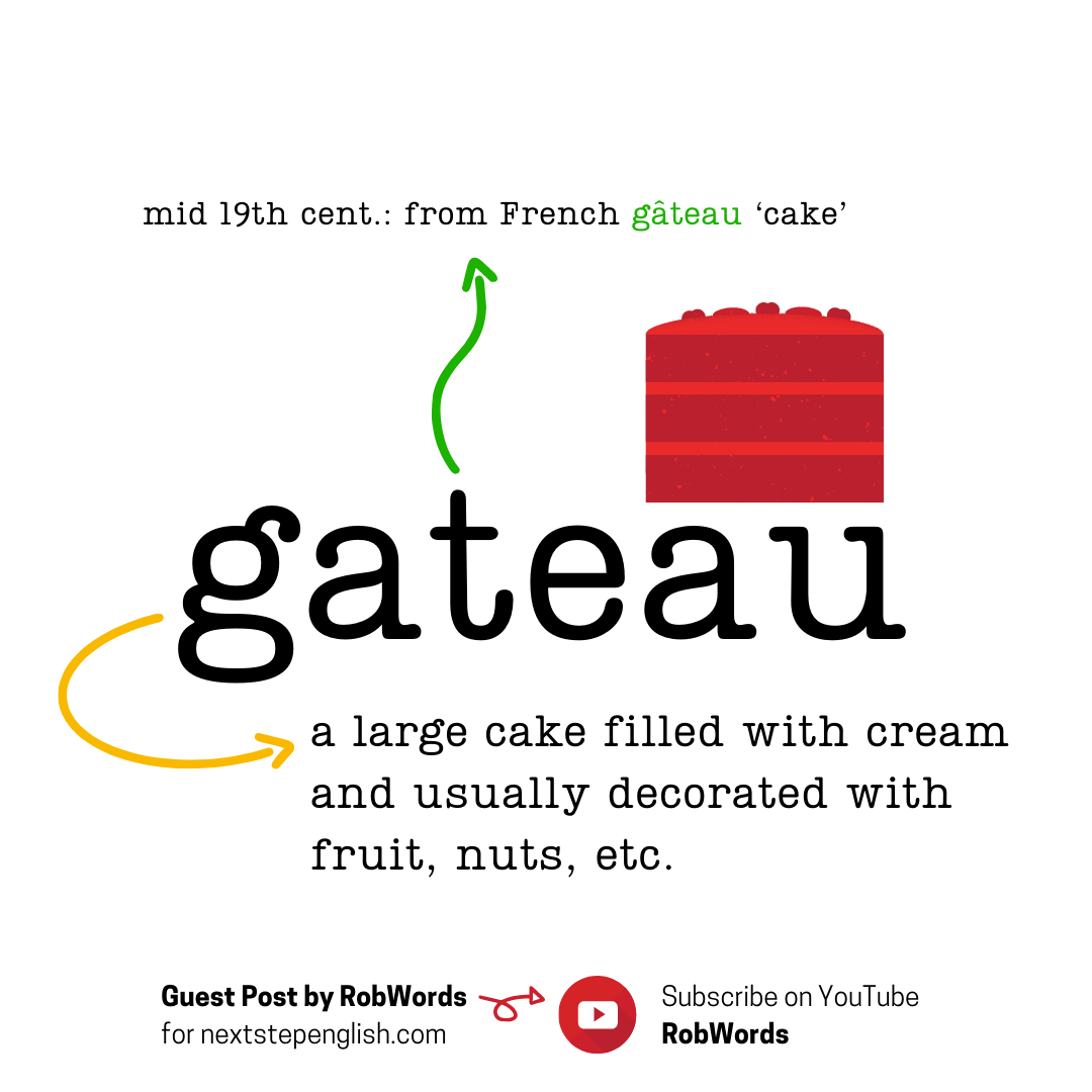 gateau-meaning